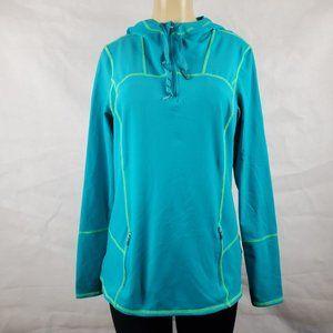 Kirkland Women Sweaters Green, Blue size L